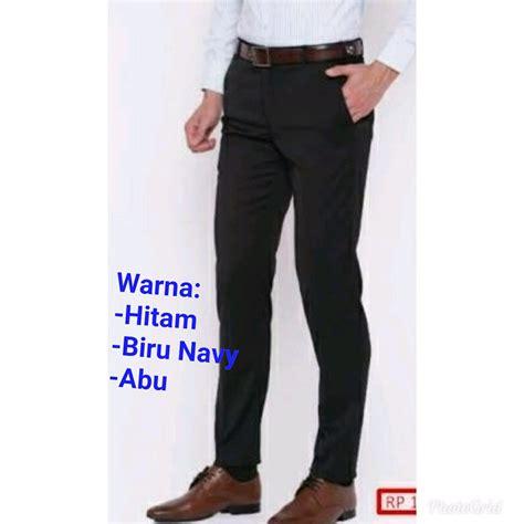 Celana Bahan Kain Slimfit jual celana kerja celana bahan celana kantor celana formal