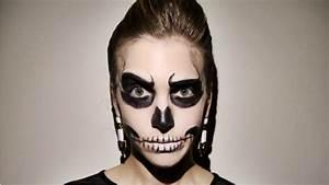 Last-Minute Halloween Makeup: Glam Skeleton | StyleCaster