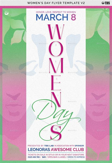 womens day flyer template   lou graphicriver