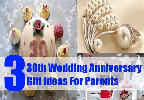 ideas  pearl wedding anniversary gifts