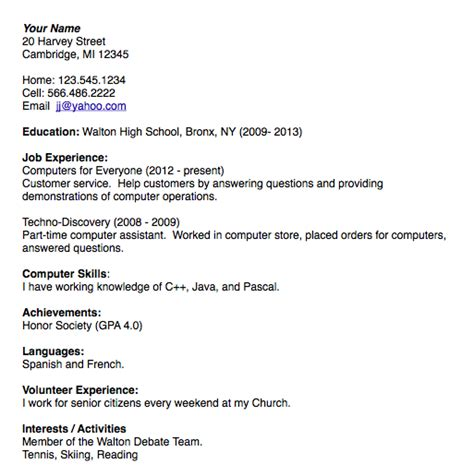 How To Make Resume For Commerce Student by Business Writing Resumes Cover Letters Esl Voices