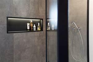Niche De Douche : am nagement d 39 une salle de bain christian val rie ~ Premium-room.com Idées de Décoration
