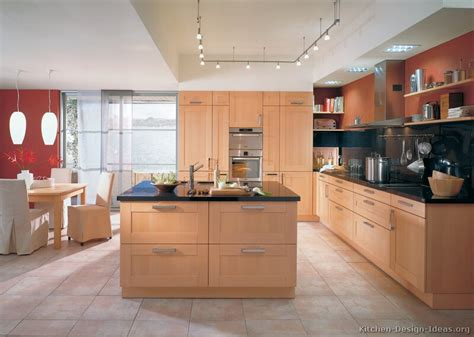 kitchen colors with light wood cabinets light wood kitchens kitchen wall colors red kitchen walls