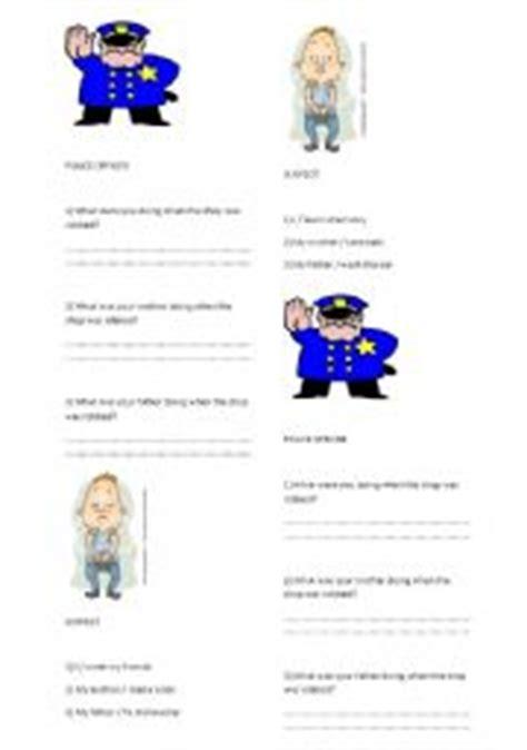 teaching worksheets past tense