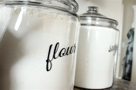 kitchen flour canisters kitchen canisters the wood grain cottage