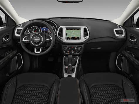 jeep compass dashboard jeep compass 2018 ganha versão limited diesel bancos de