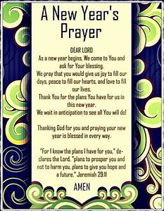 New Year's,... New Year Pray Quotes