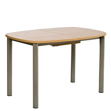 table cuisine 4 pieds table de cuisine en stratifié avec allonge lustra 4