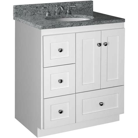 vanity with drawers simplicity by strasser shaker 30 in w x 21 in d x 34 5