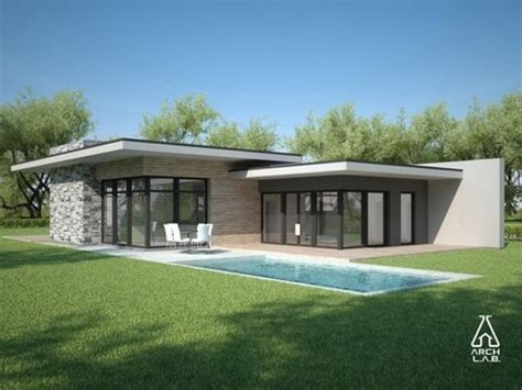 home plans single flat roof modern house plans one flat roof design