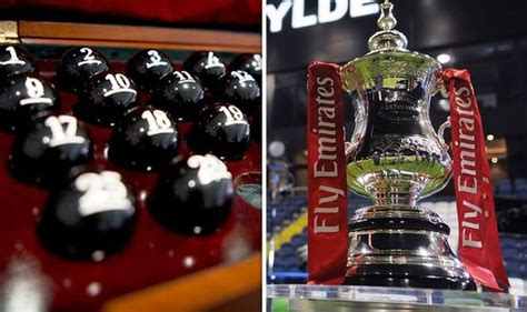 FA Cup draw: Ball numbers confirmed for fourth round as ...
