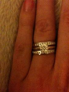 eternity rings half or all the way around weddingbee With where do you put your wedding ring