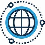 Business Icon Global International Globalization Worldwide Icons