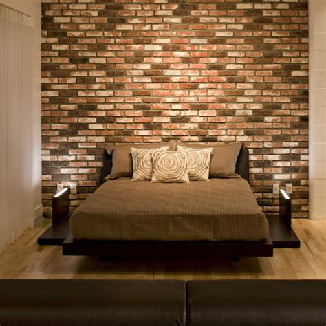 decorating brick wall choosing materials for the wall behind the headboard 55 spectacular ideas for the bedroom