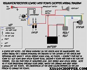 Yamaha Xs650 Wiring Schematic
