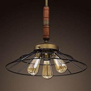 Ecopower vintage metal wood chandeliers kitchen pendant lighting fixture in the uae see