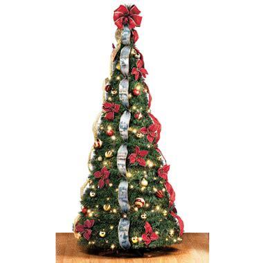 thomas kinkade pop   foot christmas tree