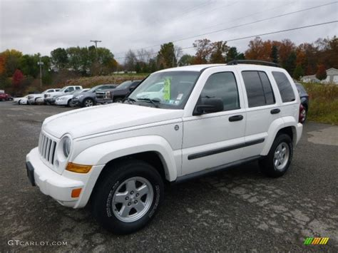 jeep liberty white 2007 stone white jeep liberty sport 4x4 116783625