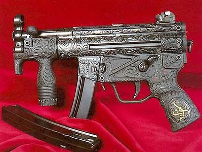 Gun Machine Military Mp5 Wallpapers Handle Guns