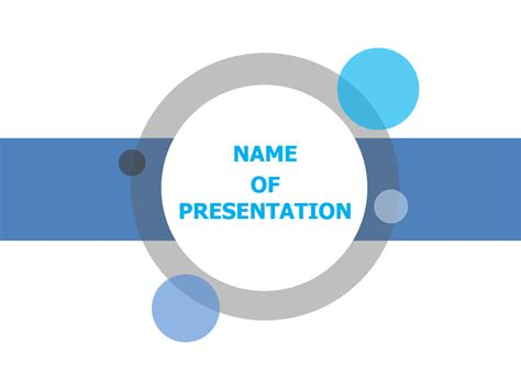Ppt Template Free Bar Circle Powerpoint Template For