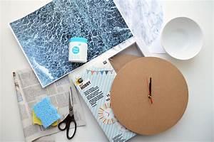 Patches Selber Machen : sieht echt aus diy marmor wanduhr mit photo patch selber machen ~ One.caynefoto.club Haus und Dekorationen