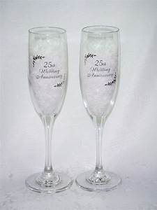 silver anniversary quotes quotesgram With 25th wedding anniversary glasses
