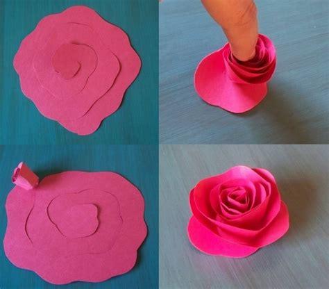 Selber Machen Aus Papier by Die Besten 25 Blumen Basteln Aus Papier Ideen Auf