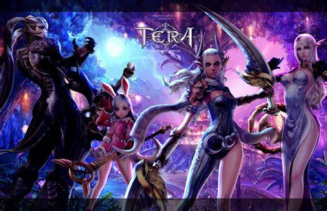 tera  fantasy adventure game  wallpaper