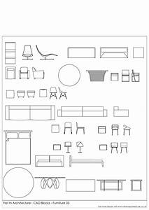 CAD Blocks Furniture Pack 03 First In Architecture Design
