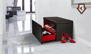 Coffre Rangement Chaussure : coffre de rangement de chaussures groupon shopping ~ Teatrodelosmanantiales.com Idées de Décoration