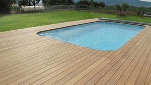 Bois Pour Terrasse Piscine : terrasse piscine bois ma terrasse ~ Edinachiropracticcenter.com Idées de Décoration