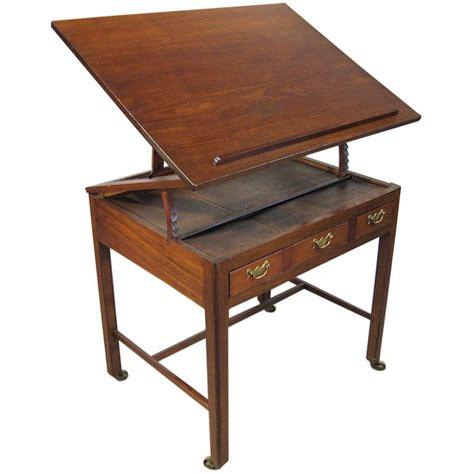 George Iii Mahogany Architect's Desk, England Ca 1760 At