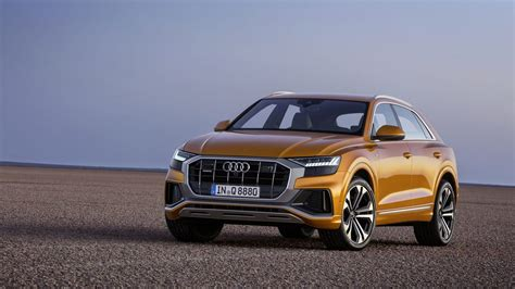 2019 audi q8 is a sport quattro for the crossover era first photos carscoops