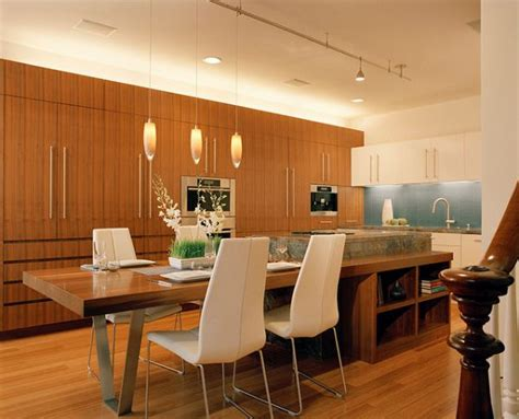 narrow kitchen island with seating 30 kitchen islands with tables a simple but clever combo