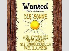 Wanted Die Sonne Wir bitten die Entführer, sie