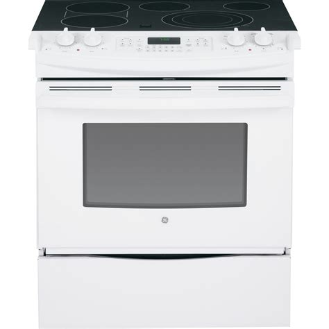 jsdfww ge    front control electric convection range
