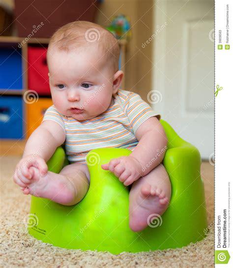 siege bebe bumbo baby bumbo seat to sit up stock image