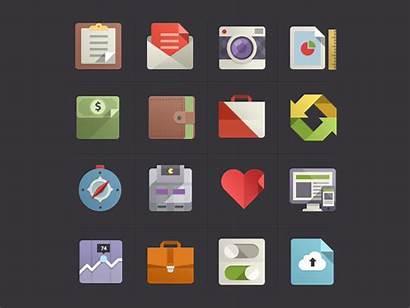 Flat Icons Icon Designer Illustration Affinity Vector