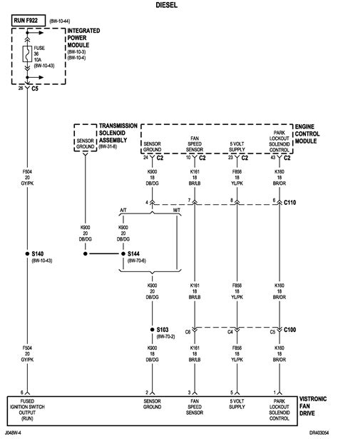 2004 Dodge 3500 Fan Wiring Diagram by I Need A Wiring Diagram For Fan Clutch On A Dodge Cummins