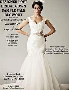 Bridal gown sample sale new york for Nyc wedding dress sample sale