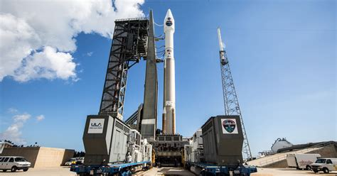 Atlas V rocket launches from Cape Canaveral with NASA ...