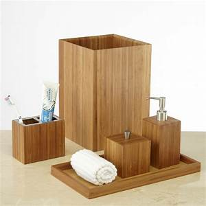 Bad Set Holz : badaccessoires die frische ins badezimmer bringen fresh ideen f r das interieur dekoration ~ Markanthonyermac.com Haus und Dekorationen