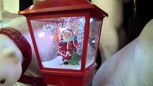 Lanterne De Noel : lanterne p re noel sous la neige youtube ~ Teatrodelosmanantiales.com Idées de Décoration