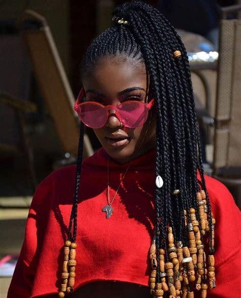 Best 25  Box braids styling ideas on Pinterest