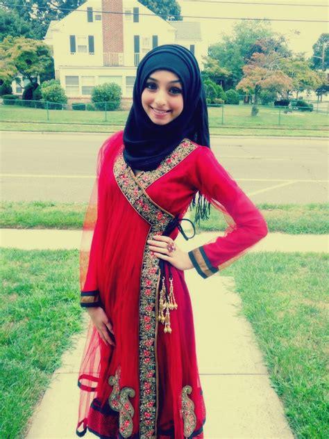 Outfits What u0026 How To Wear Hijab For Eid ul-Fitr 2015 - HijabiWorld