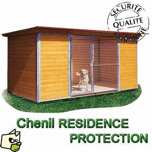 Chenil Extérieur Pour Chien : chenil en panneaux bois isolant pour chien ~ Melissatoandfro.com Idées de Décoration