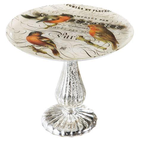 bird pedestal plate glass midwest cbk