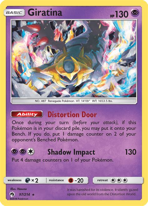 Use giratina origin form card and thousands of other assets to build an immersive game or experience. Giratina (Lost Thunder LOT 97) — PkmnCards