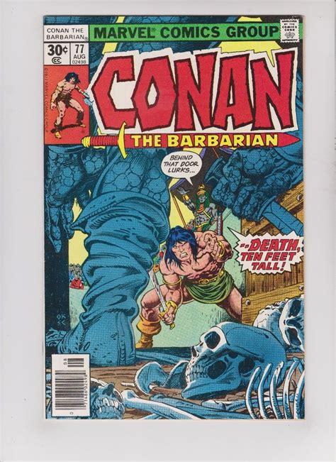 Conan 77  Rare Key Comic Book Ebay