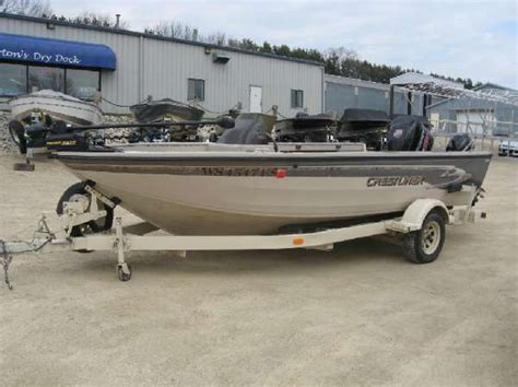 Crestliner Open Boat by Used Freshwater Fishing Crestliner Boats For Sale Boats